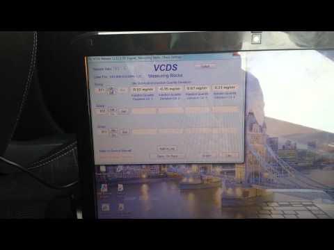 2007 Skoda Octavia VRS PD TDI vagcom vcds injector deviation