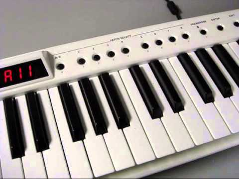 Roland AX-7 Programming Bank Select Messages and Assigning to Patch Select
