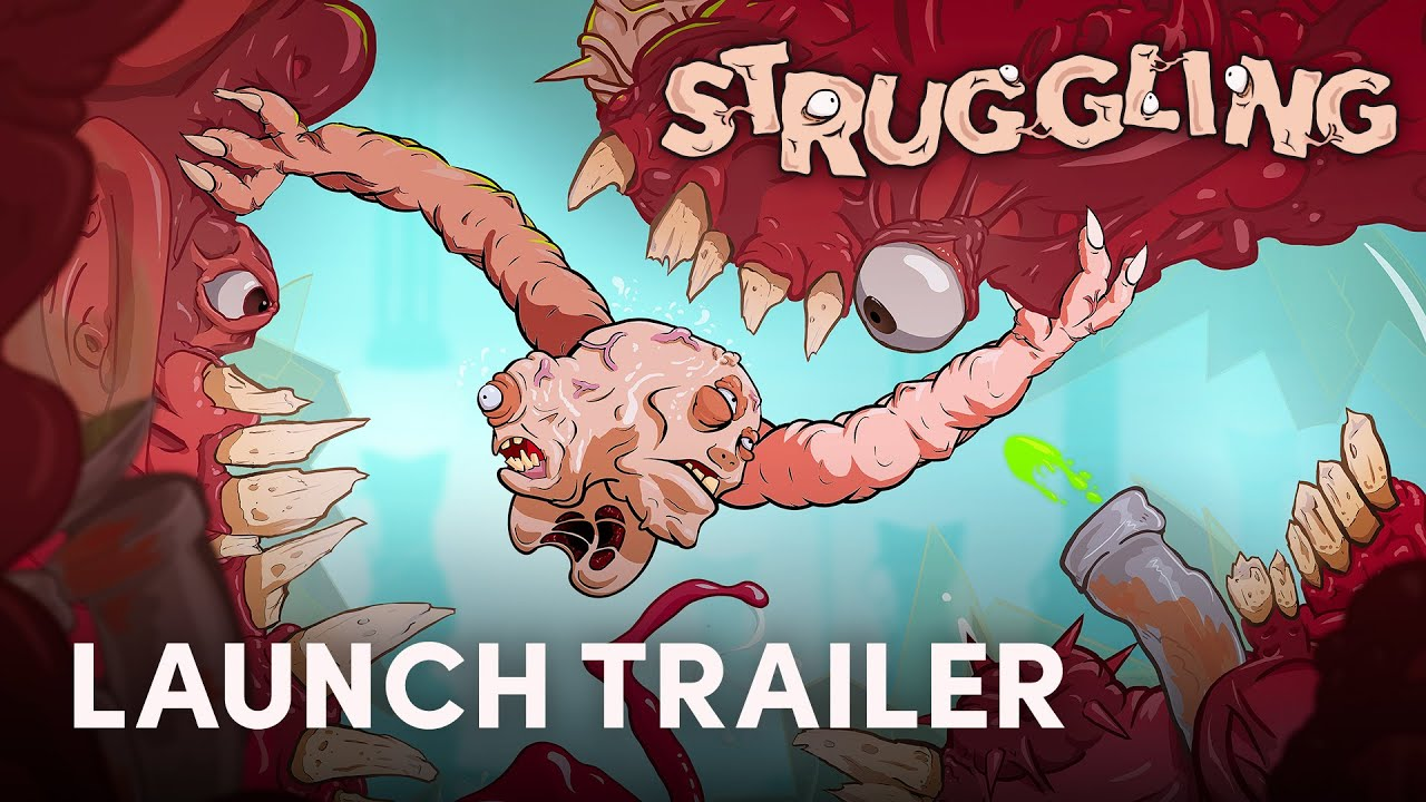 Struggling is a the Weird Fleshy Co-Op Platformer