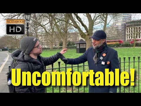 Uncomfortable! Hashim Vs American Christian | Speakers Corner | Hyde Park