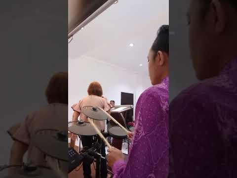 Cendy Abednego - hanya di dalam namanya + s'perti bapa sayang anaknya (drum cover)