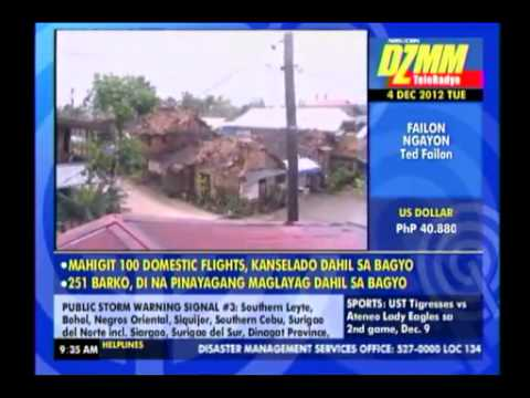 hinatuan surigao del sur pablo typhoon by: Mckoy