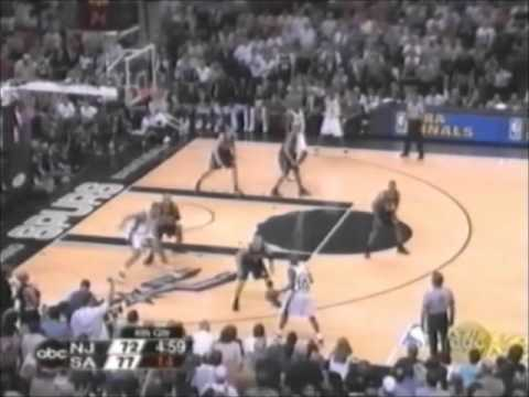 e33595ab1cf Spurs 19-0 Run vs. Jason Kidd and the Nets (2003 Finals Game 6, Duncan wins  2nd Championship)