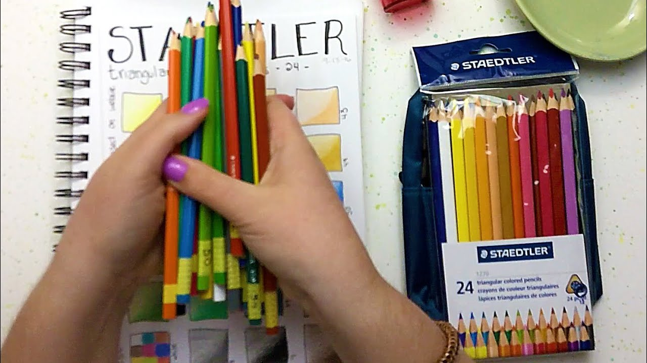 Colouring pencils for adults reviews - Staedtler Colored Pencils Review