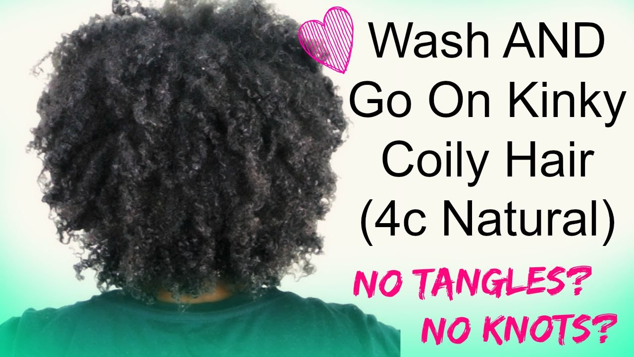 Knots And Tangles In Natural Hair