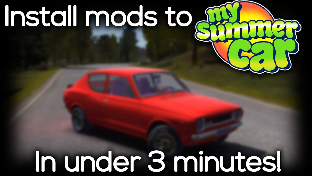 My Summer Car - How To Install Mods/Plugins In Under 3 Minutes! (2019)