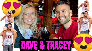 Dave and Tracey 😍👫💖💍💛💙💜❤️
