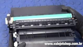 Vídeo Recarga Toner HP CC364X | 64X | P4015 - Vídeo Aula Valejet.com(, 2011-02-17T19:59:52.000Z)
