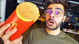 JE TESTE DES FOOD HACK (McDo, Pizza….)