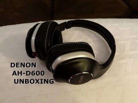 Denon AH-D600 Headphone Unboxing - NEW Music Maniac Series!