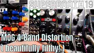 Superbooth 2019: MÖG - Awesome 4-Band Distortion from DPW Design