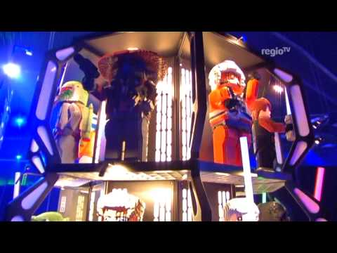 X-Wing im Legoland inkl. Garrick Hagon (RegioTV Schwaben)