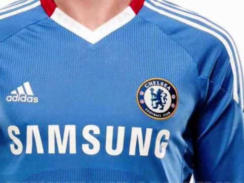 Camiseta Adidas del Chelsea FC 10/11.