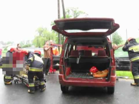 Wypadek w Raciborowicach Górnych