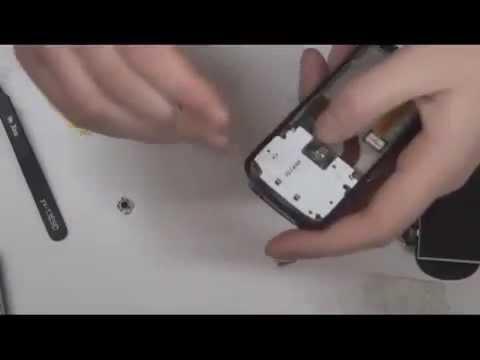 Видео урок по замене джойстика Nokia N73 By Саш...V