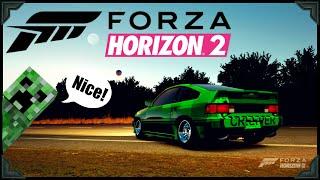 Forza Horizon 2 | 1984 Honda Civic CRX Mugen Creeper Edition | Xbox One Gameplay (HD)