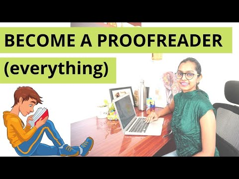 BECOME A PROOFREADER ONLINE \u0026 FIND ONLINE PROOFREADING JOBS NO EXPERIENCE ONLINE | WORK FROM HOME