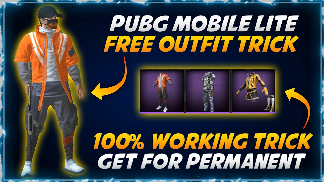 Download Pubg Mobile Lite Best Trick To Get Free Permanent Outfit | How To Get Free Oufit In Pubg Mobile Lite