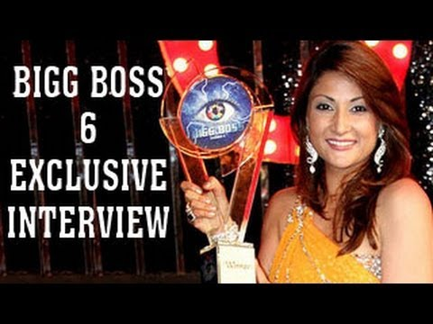 EXCLUSIVE INTERVIEW - Urvashi Dholakia WINS Bigg Boss 6 - MUST WATCH !!!