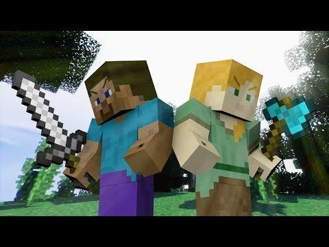 Alex VS Steve  - The Minecraft Movie