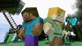 Alex VS Steve  - The Minecraft Movie