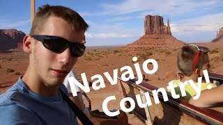America Trip vlog #3: Visiting Navajo Country! - Antelope Canyon, Monument Valley and More!