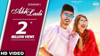 Akh Ladi (Official Video) Zorawar | Latest Punjabi Romantic Song 2019 |  White Hill Music