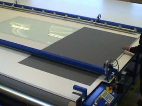 Sani USA .com Asco Auto Cutting Table for Roller Shades