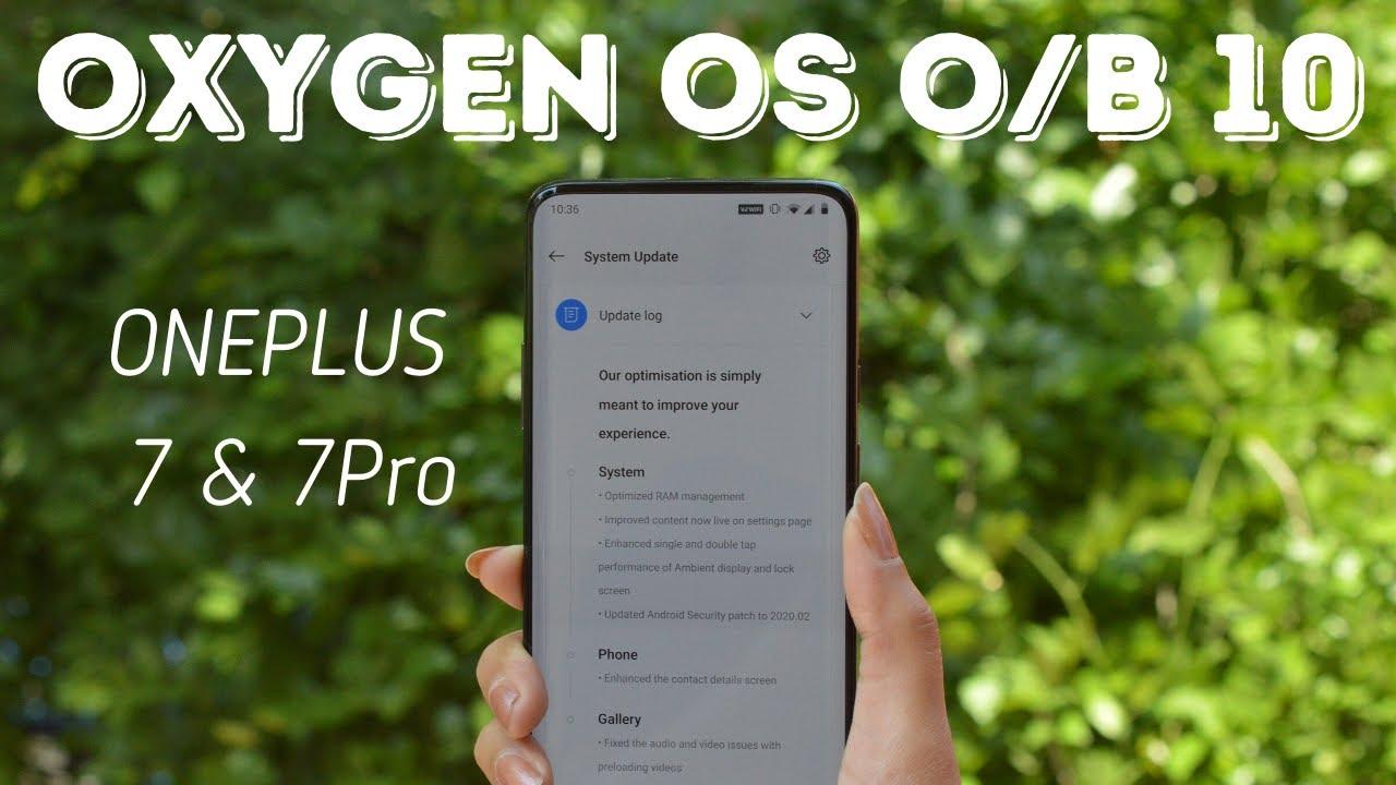 Oxygenos Update