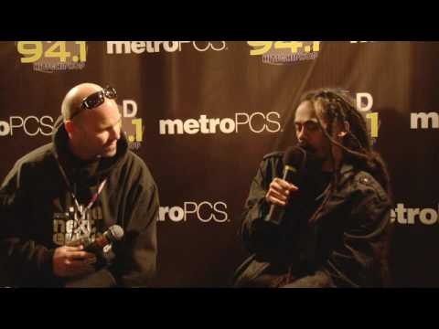 """WiLD 94-1's WiLDSplash 2010 interview backstage with Damian """"Jr Gong"""" Marley"""