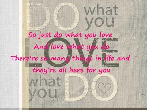 Ryan Huston - Do What You Love Lyrics