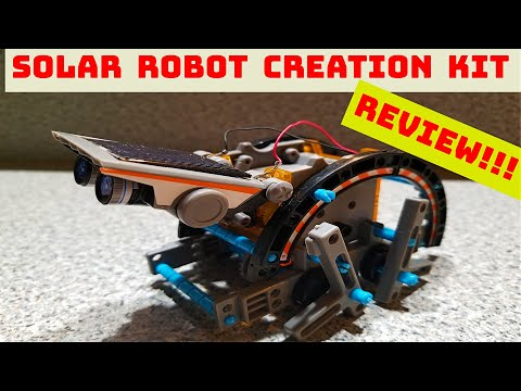 Everything You Need To Know About Discovery #Mindblown Solar Stem Robot - A DIY STEM Exercise