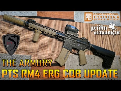 THE ARMORY PTS RM4 ERG CQB UPDATE BUILD | SPARTAN117GW