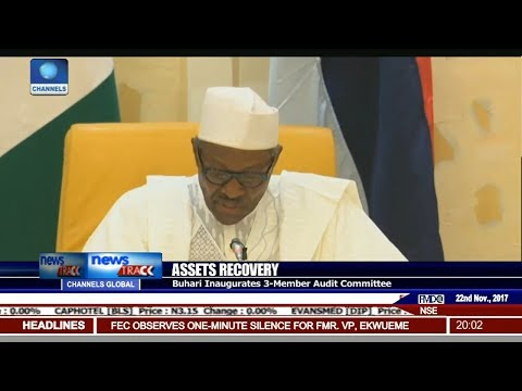 Buhari Inaugurates 3-Member Audit Committee On Assets Recovery