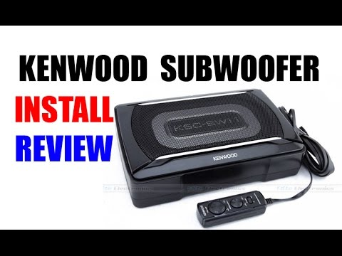Diy kenwood powered subwoofer install youtube asfbconference2016 Choice Image