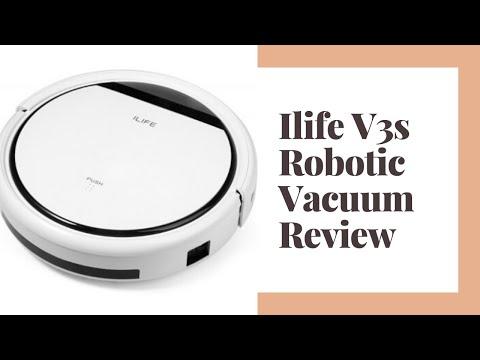 ILIFE V3s Robotic Vacuum Cleaner Review - Robot Vacuum Reviews