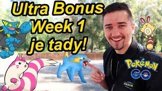 Ultra Bonus Week 1 začíná a k tomu hodně novinek! | Pokémon GO CZ/SK Jakub Destro