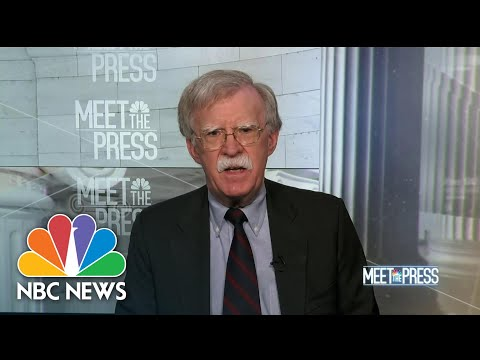 Bolton: 'America Can Recover From One Term Of Donald Trump' | Meet The Press | NBC News