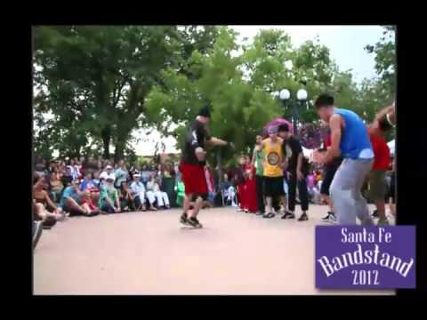 3HC Breakdancing Crew at Santa Fe Bandstand 2012