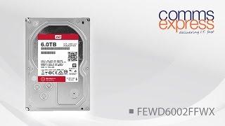 Western Digital 6TB Red Pro 128MB 3.5 Sata Hard Drive 6GB