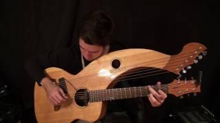 Video Wish You Were Here - Pink Floyd - Harp Guitar Cover - Jamie Dupuis download MP3, 3GP, MP4, WEBM, AVI, FLV Maret 2017