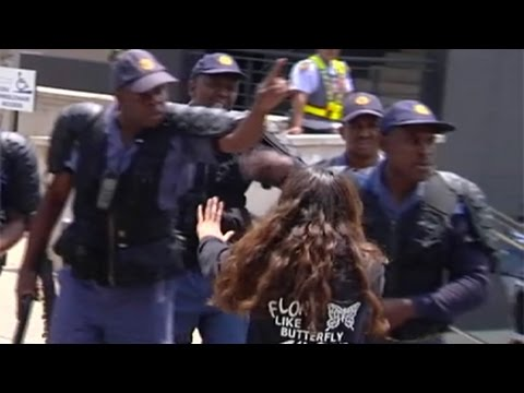 Shaeera Kalla shot 13 times with rubber bullets remains in hospital