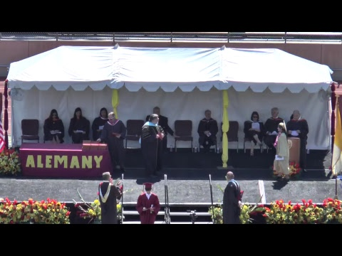 Bishop Alemany High School Commencement 2018