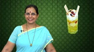 Honeymoon Special Fruit Salad | Mallika Badrinath Recipes