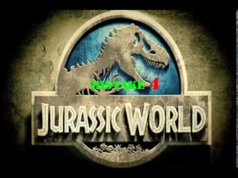 4 mistakes in jurassic world 2015