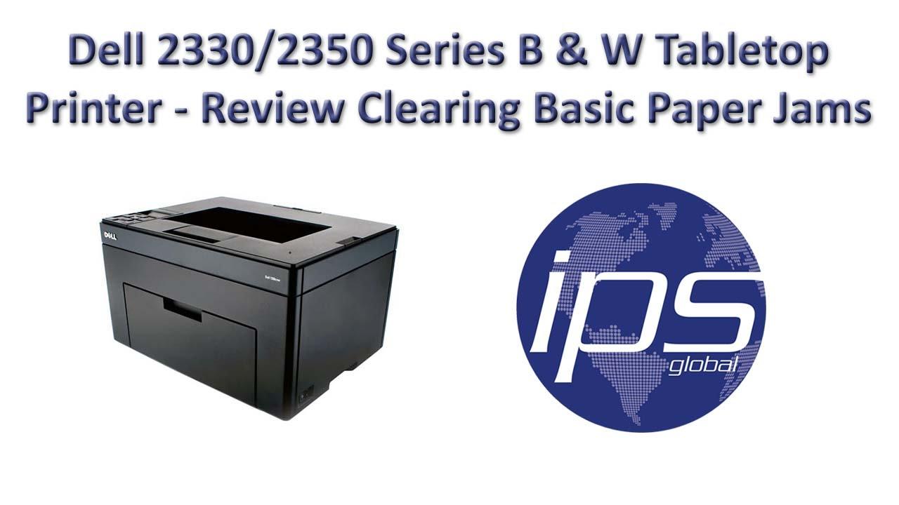 Lexmark E260 - Clearing Basic Paper Jams
