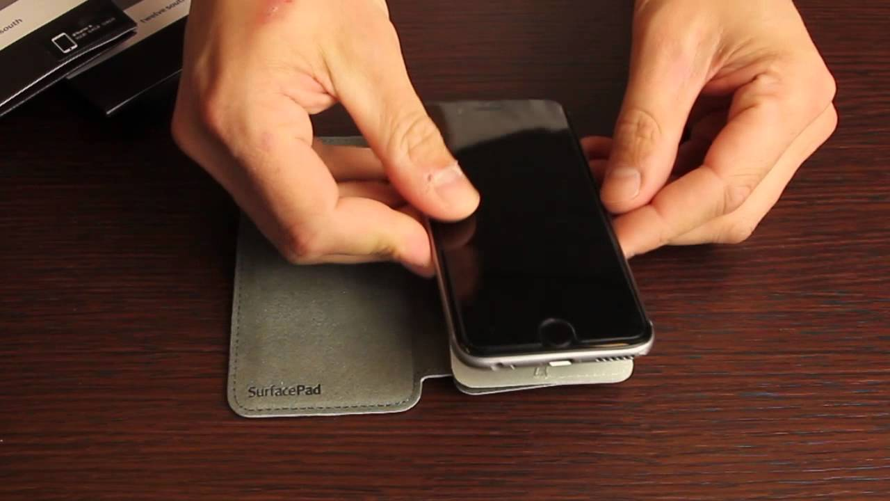 new concept 0d792 650f3 Twelve South SurfacePad iPhone 6 - UNBOXING