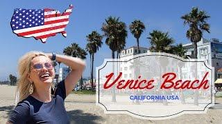Венис Бич Калифорния. Прогулки по пляжу Венис(Приглашаю вас по знаменитому пляжу Венис Бич, который располагается вблизи города Лос Анджелес и ежегодно..., 2016-05-16T12:28:29.000Z)