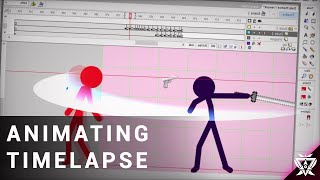 Animating Time Lapse (Daily Practice 3) |Stickfigure/ Flash Animation)