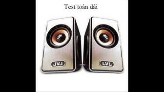 Test loa mini 2.0 JVJ JS - 100 ( test JVJ JS - 100 mini speaker )